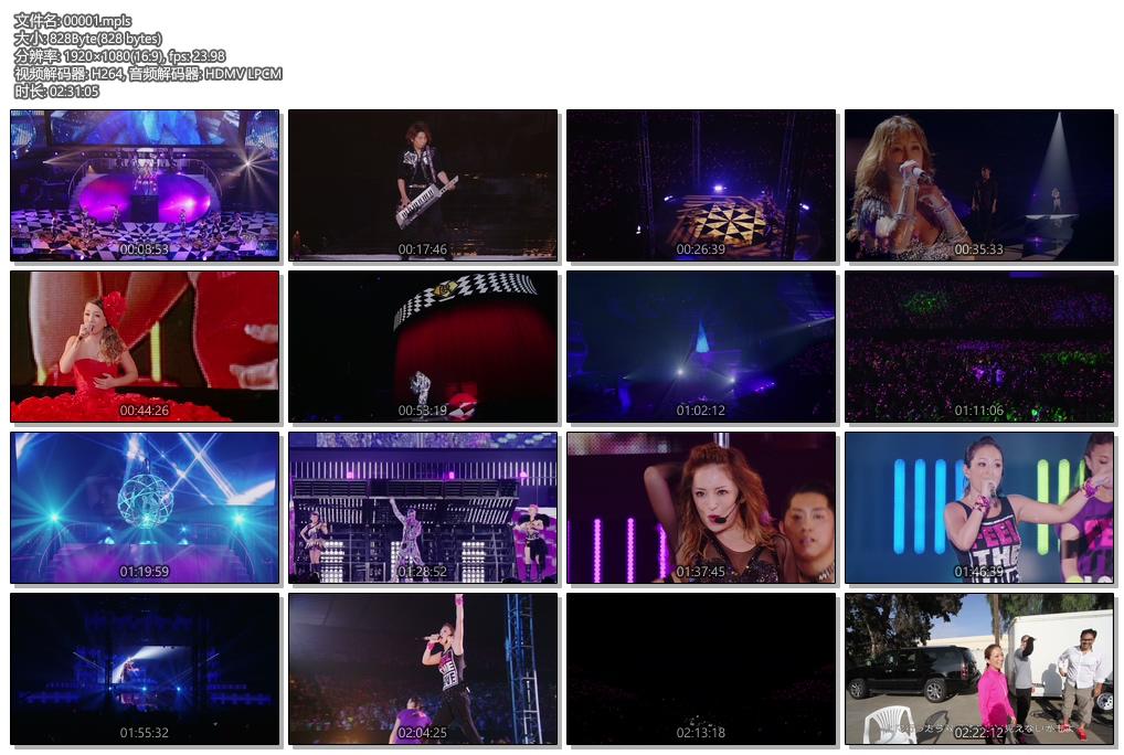 [蓝光原盘] 滨崎步2014演唱会《ISO 41.6G》