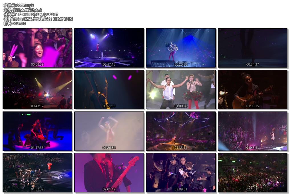 [蓝光原盘] 郑秀文2009年世界巡回演唱会《ISO 44g》