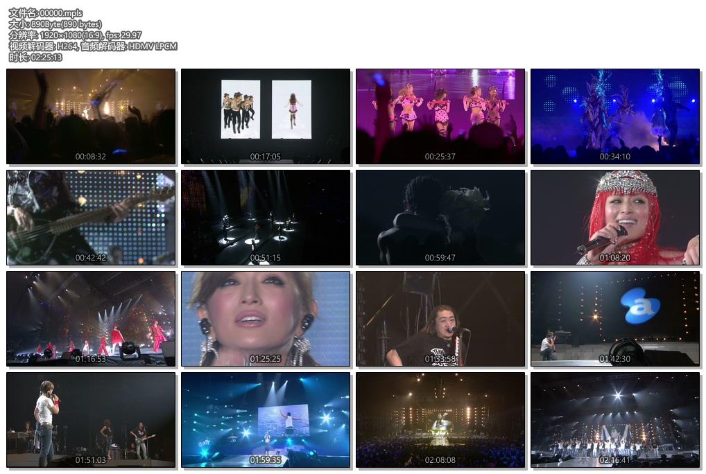 [蓝光原盘] 滨崎步2006巡回演唱会 《ISO 40.2G》
