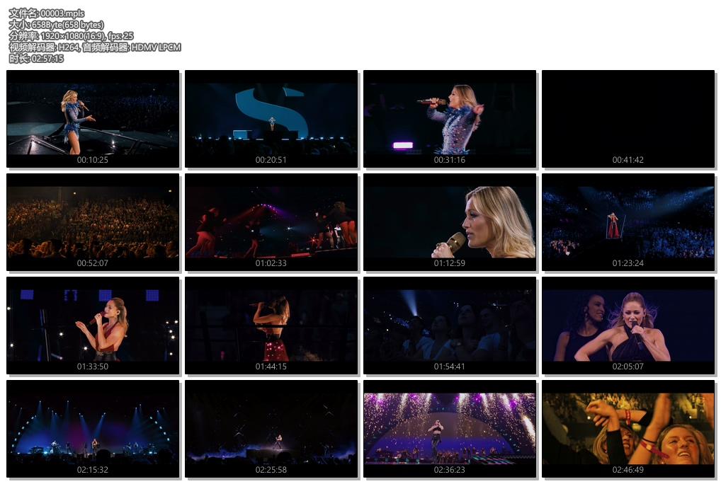 [蓝光原盘] 德国女歌手(Helene Fischer) - 竞技场之旅现场演唱会 2018 《BDMV》