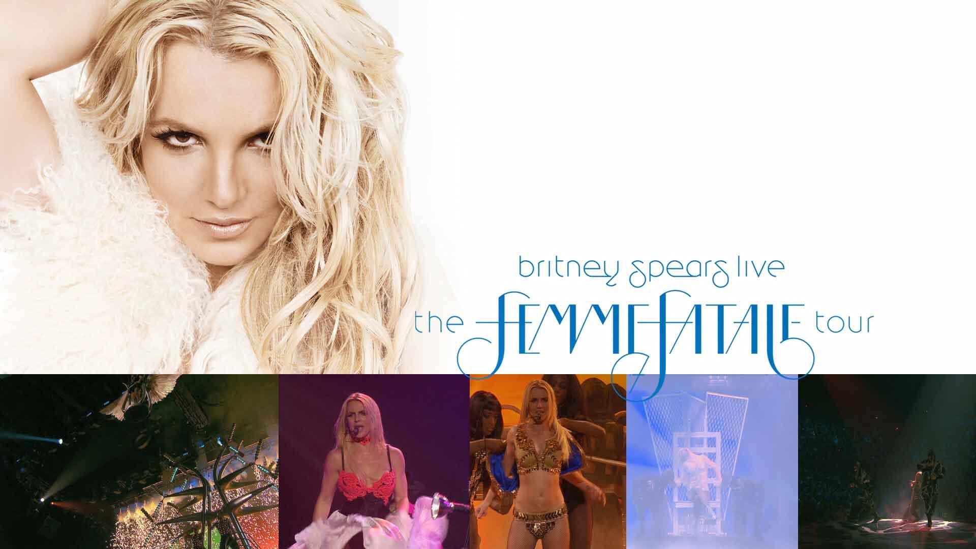 [蓝光原盘] 布兰妮(Britney Spears)蛇蝎美人巡回演唱会 2011《BDMV 23g》