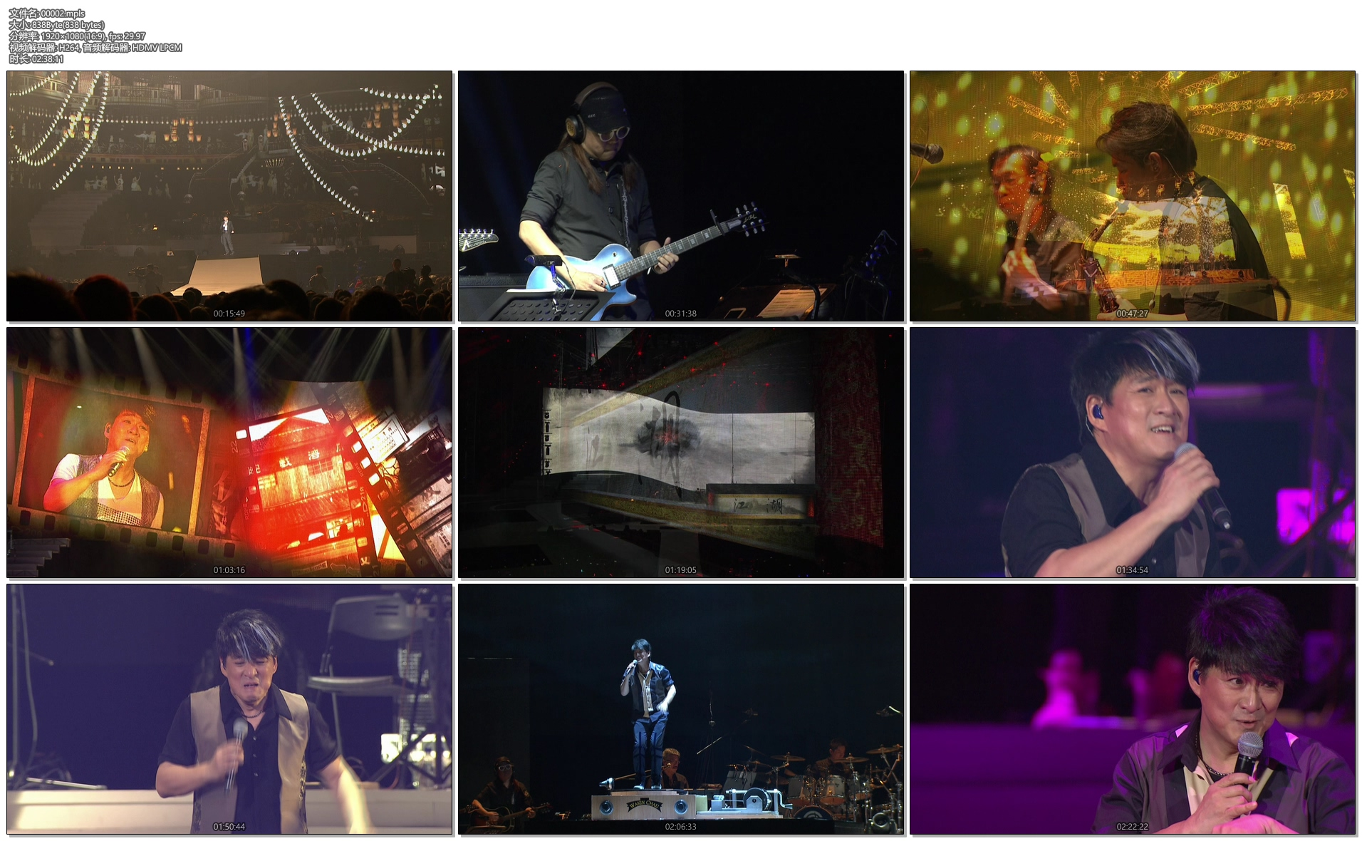 [蓝光原盘] 周华健:今天唱什么世界巡回演唱会-台北场 2015