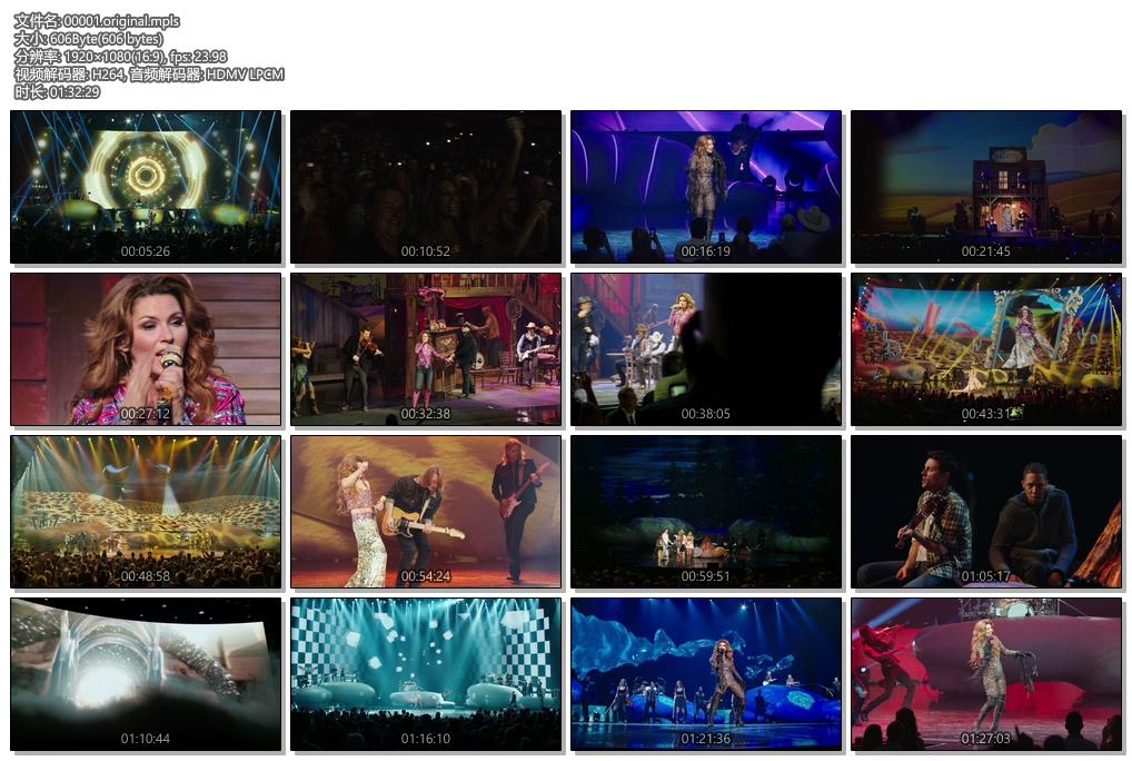 [蓝光原盘] 仙妮亚.唐恩 Shania Twain:拉斯维加斯演唱会2012 《BDMV 38g》