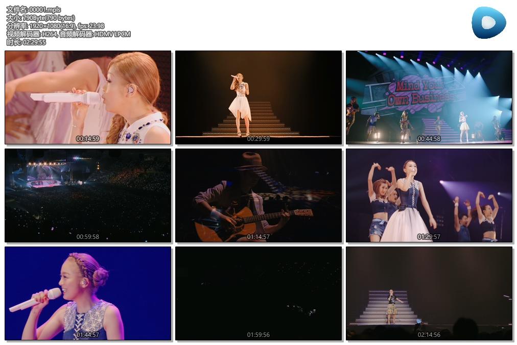 [蓝光原盘] 西野加奈 - 爱的陪伴巡回演唱会 《ISO》