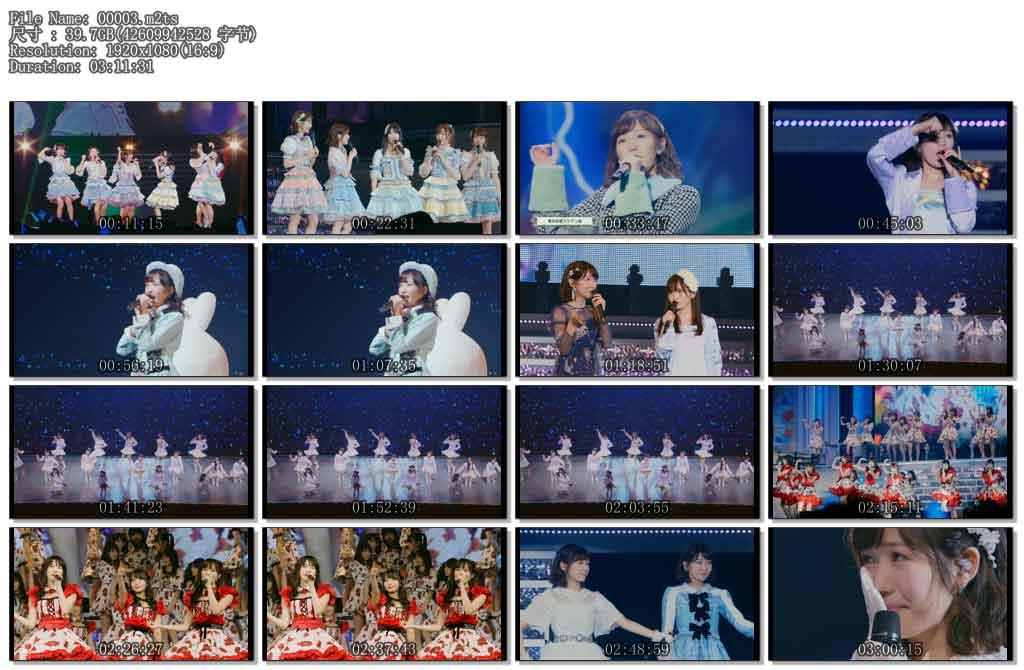 [蓝光原盘] AKB48 渡边麻友毕业演唱会《6碟180g ISO格式》