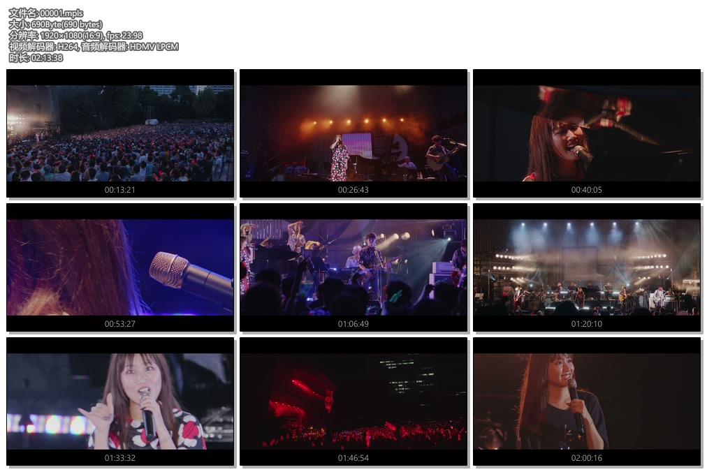 [蓝光原盘] 大冢爱2018年15周年演唱会《BDMV 36.3g》