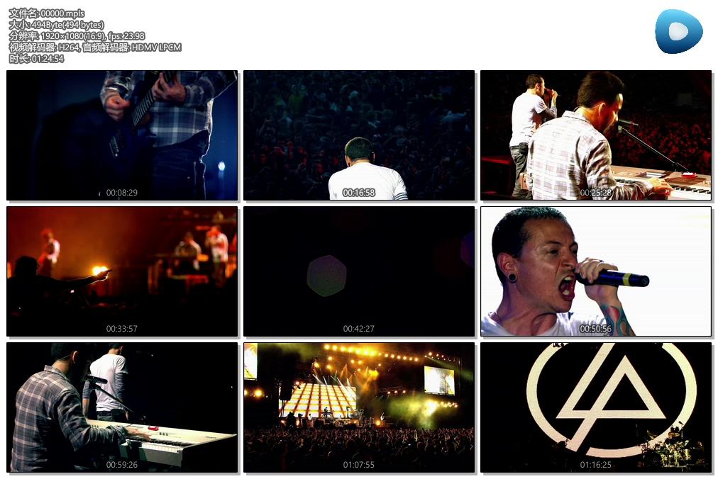 [蓝光原盘] 林肯公园Linkin Park - 革命之路 米尔顿凯恩斯演唱会 2008 《BDMV》
