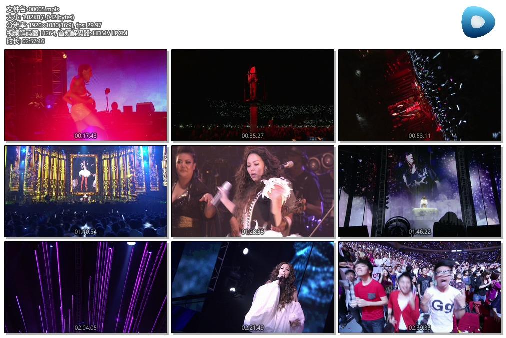 [蓝光原盘] 张惠妹:AMeiZING Live世界巡回演唱会跨世纪盛典 2013 《BDMV》