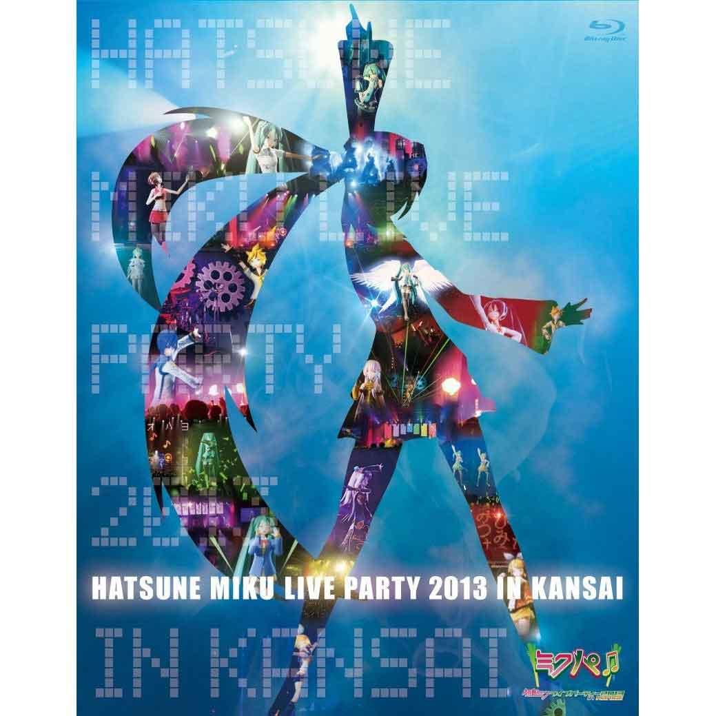 [蓝光原盘] 初音未来2013关西演唱会 《BDMV3碟 85.9G》