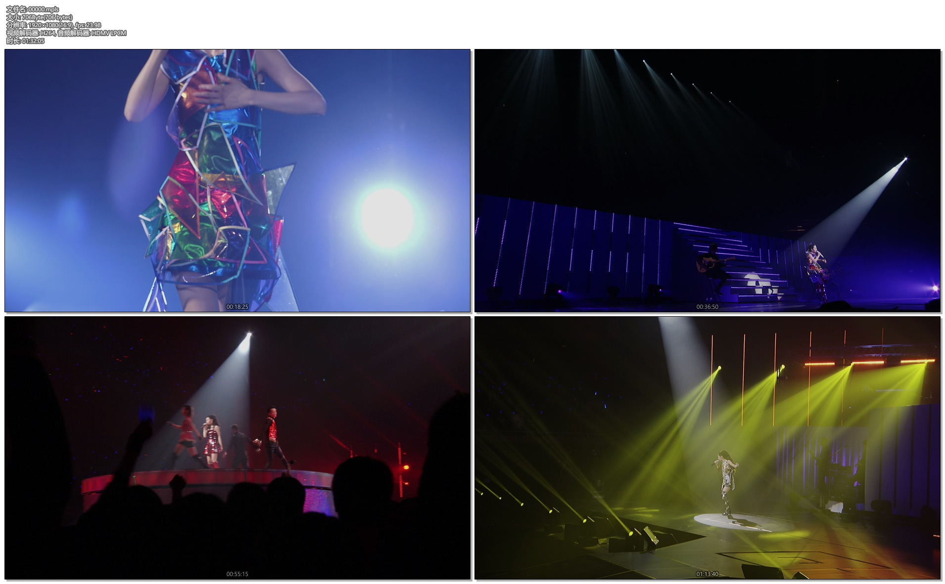 [蓝光原盘] 仓木麻衣15周年纪念演唱会《ISO双碟 71.7G》