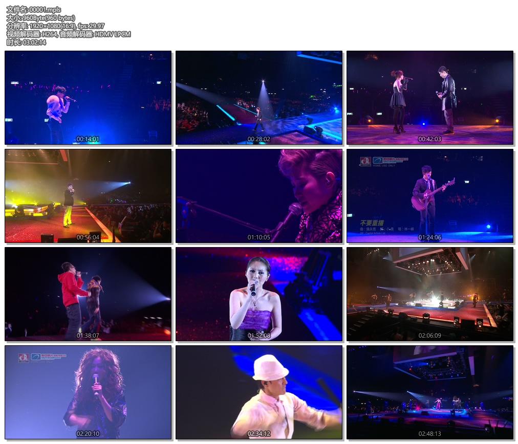 群星 东亚华星 East Asia Capital Artists 2009香港红馆演唱会《ISO 43.95G》蓝光原盘插图(2)