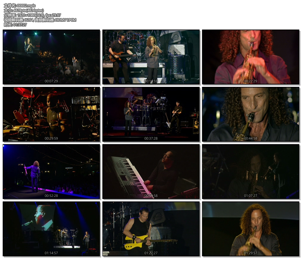 肯尼·基 浪漫韵律之夜 An Evening of Rhythm & Romance 2008 演唱会《ISO 37.6G》蓝光原盘插图(2)