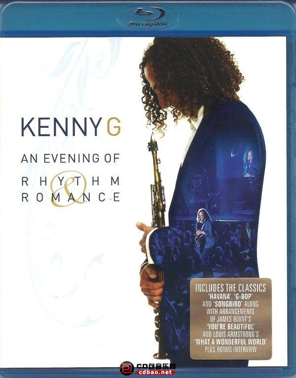 肯尼·基 浪漫韵律之夜 An Evening of Rhythm & Romance 2008 演唱会《ISO 37.6G》蓝光原盘插图(1)