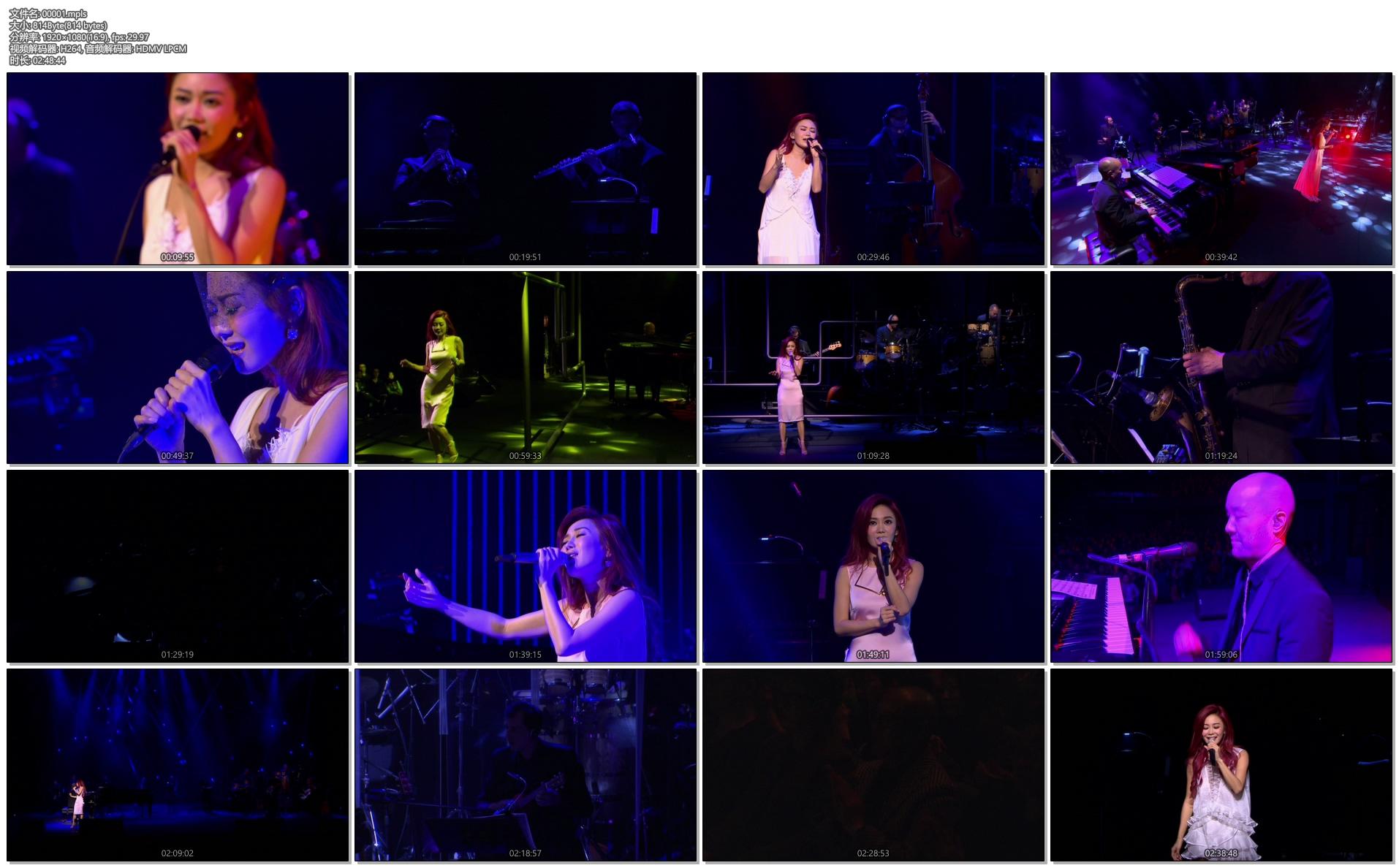 [蓝光原盘] 胡琳BodynSoul演唱会2015Bianca Wu Body n Soul Concert 《ISO 22.9G》插图(4)