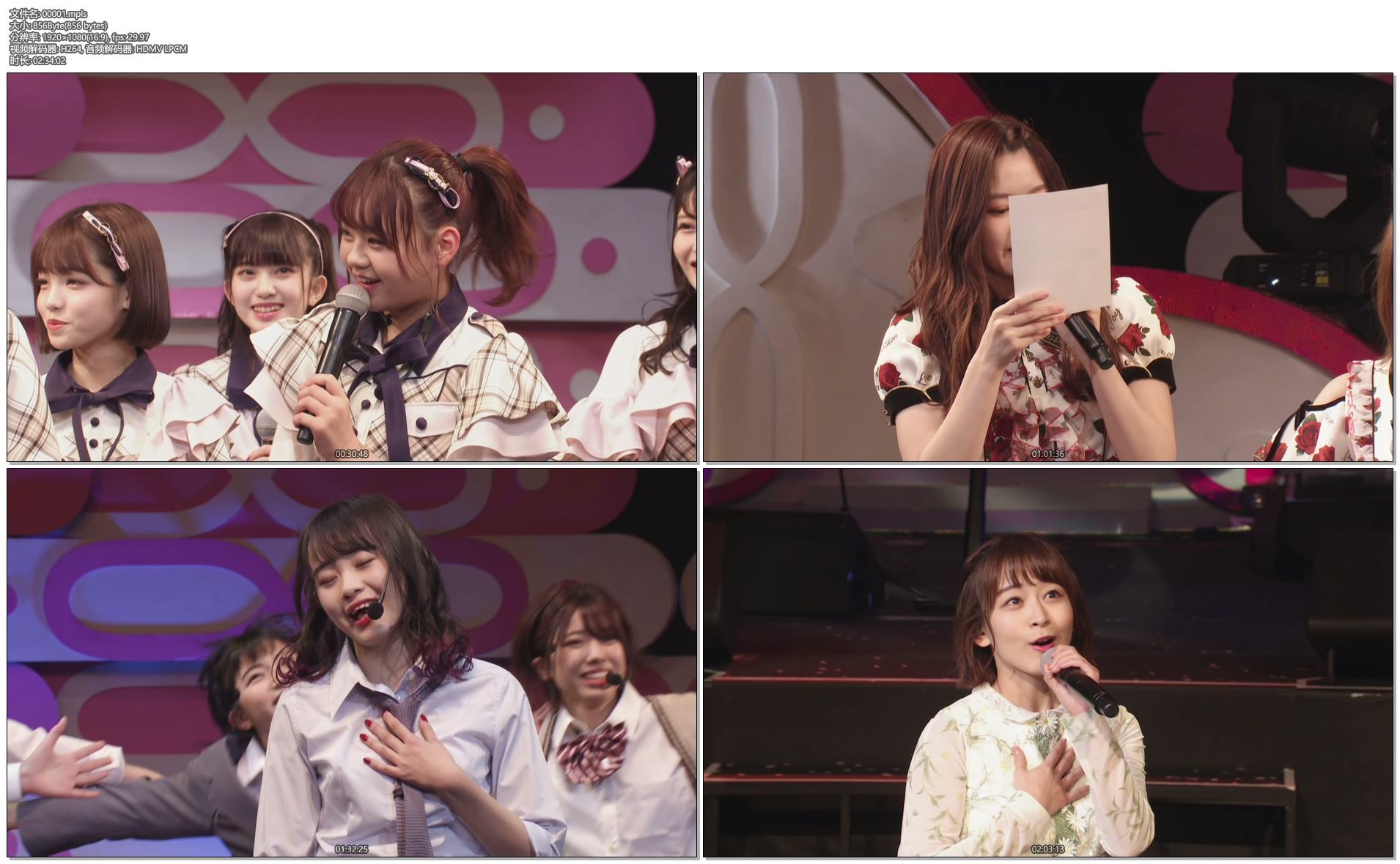 [蓝光原盘] AKB48 Team8 现场蓝光合集AKB48 Team 8 Live Collection《ISO 10碟 295G》