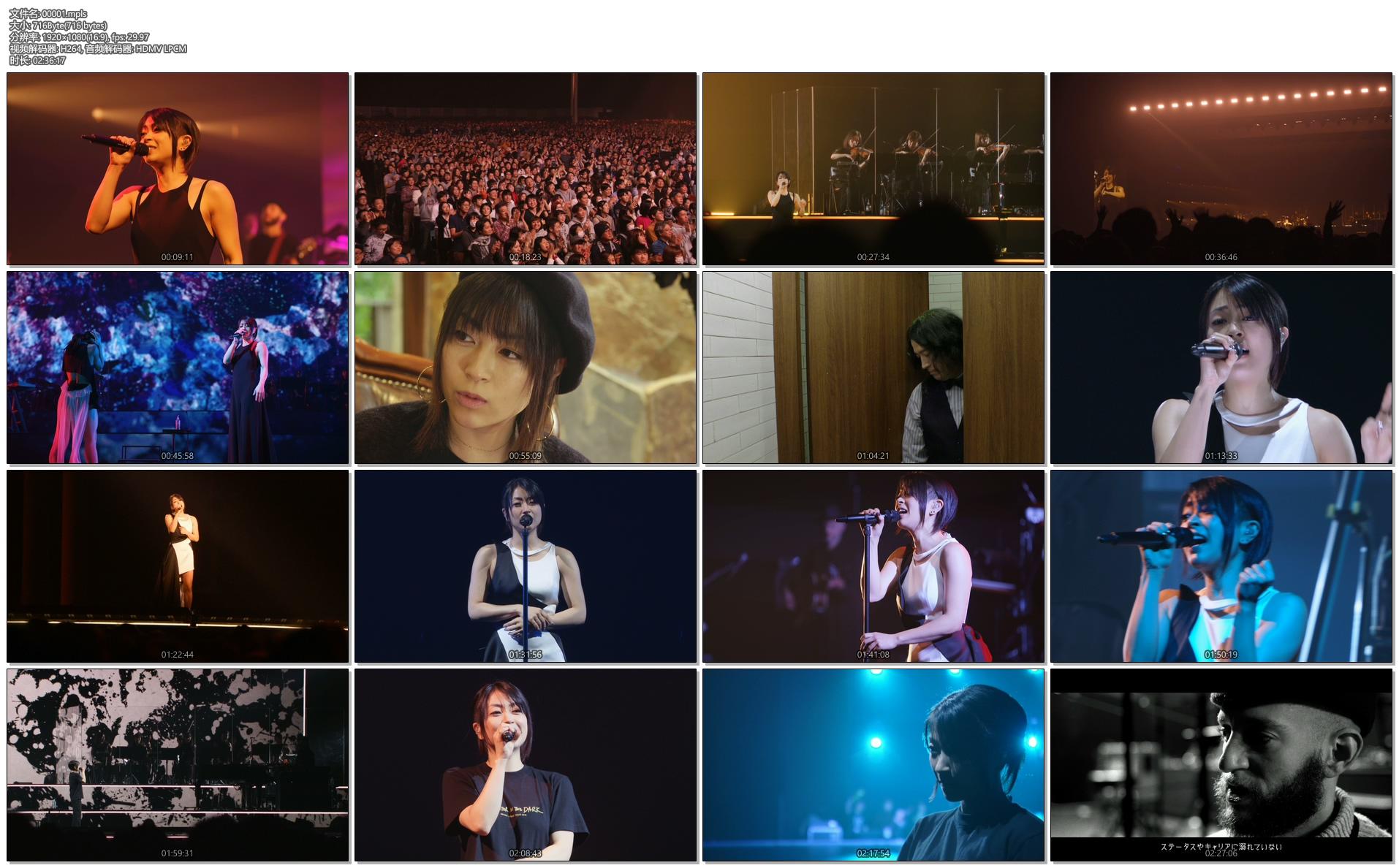 [蓝光原盘] 宇多田光2018千叶幕张演唱会Hikaru Utada Laughter in the Dark Tour 2018《ISO 43.6G》插图(2)