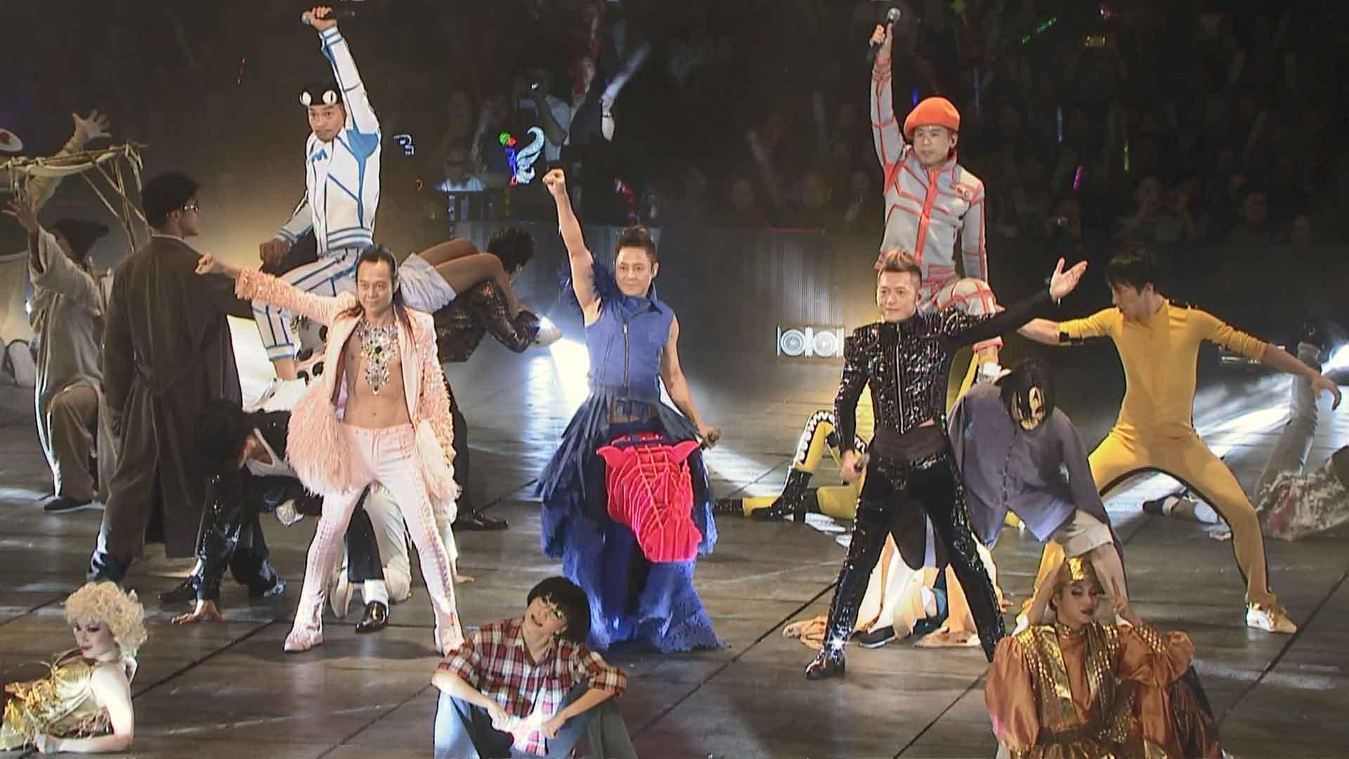 [蓝光原盘] 草蜢森巴大战软硬FAN 2012 演唱会GRASSHOPPER VS SOFTHARD 2012 HK《 ISO 42.25G》