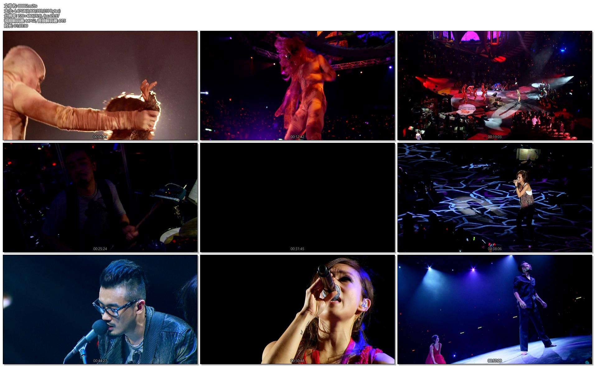 [蓝光原盘] 林忆莲香港演唱会 Sandy Lam Concert 2012《13.61G》PowerDVD 18测试播放正常