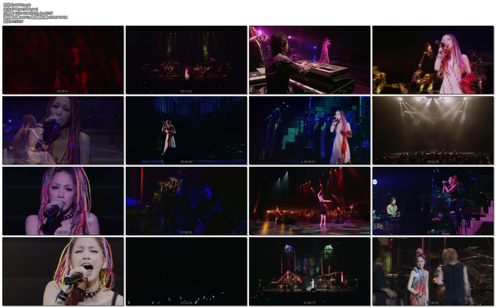 [蓝光原盘] 中岛美嘉 2005 经典演唱会Mika Nakashima LET'S MUSIC TOUR 2005《BDMV 38.49G》插图(2)