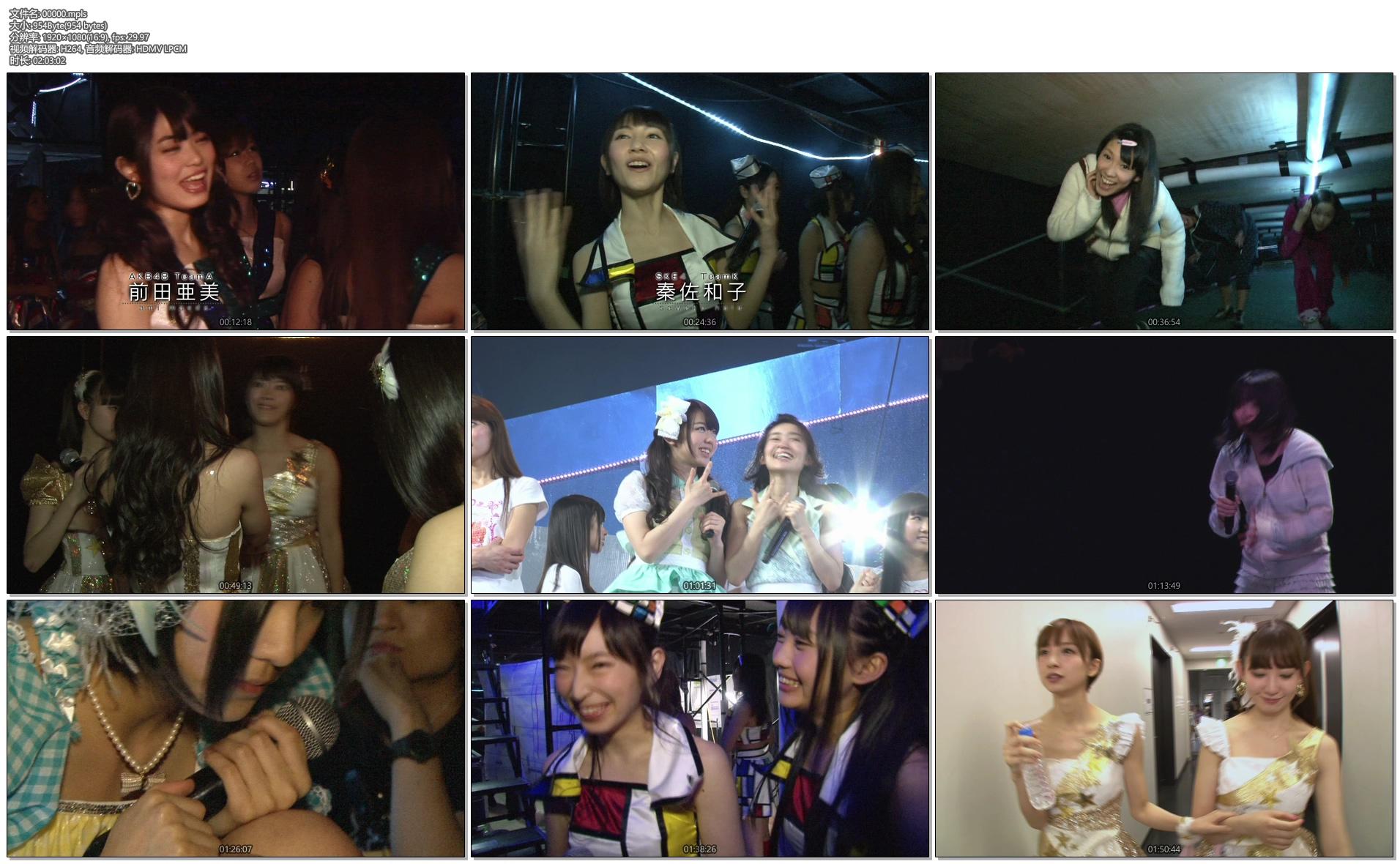 [蓝光原盘] AKB48 前田敦子 毕业演唱会《BDMV 187G》插图(7)