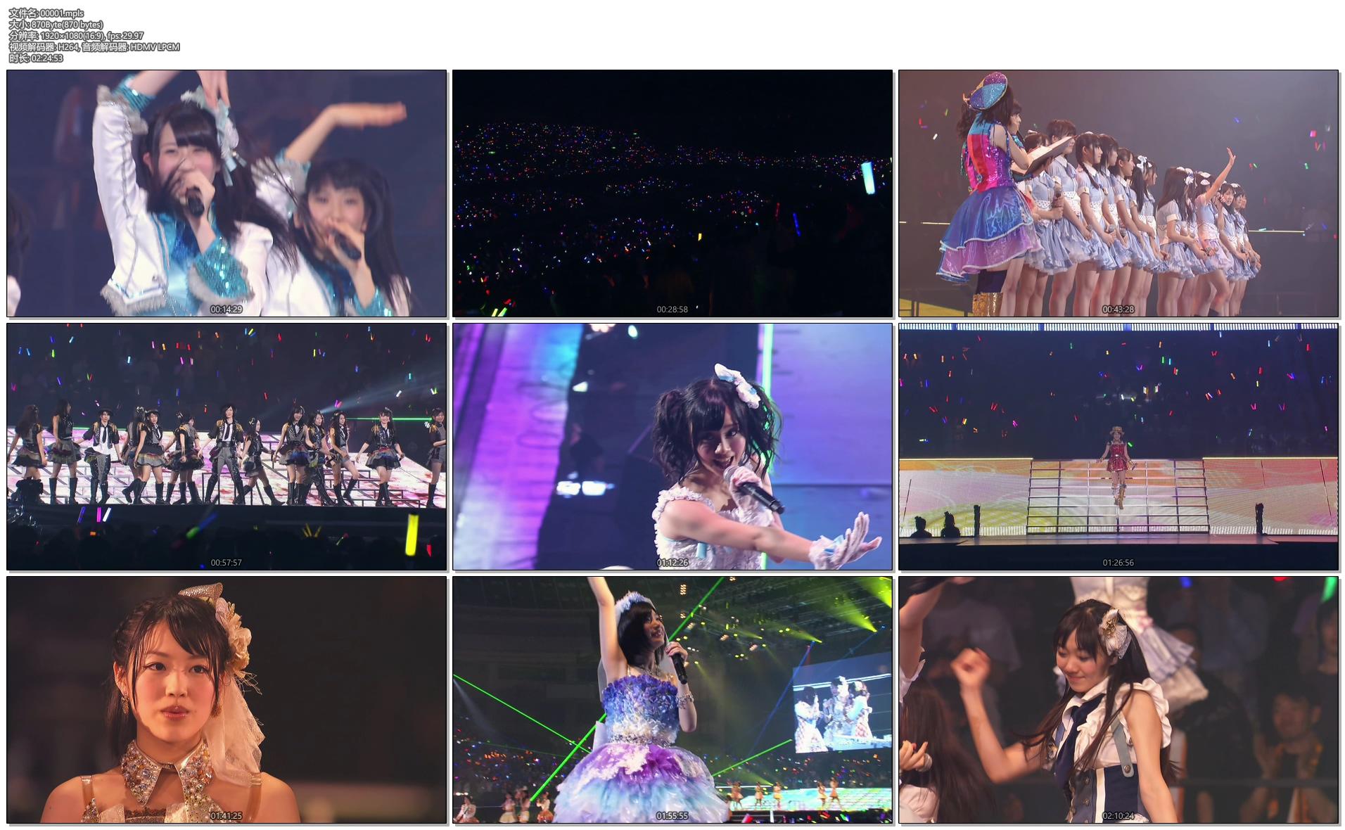 [蓝光原盘] SKE48春コン2013「変わらないこと。ずっと仲间なこと」スペシャル《ISO 四碟 144.54G》