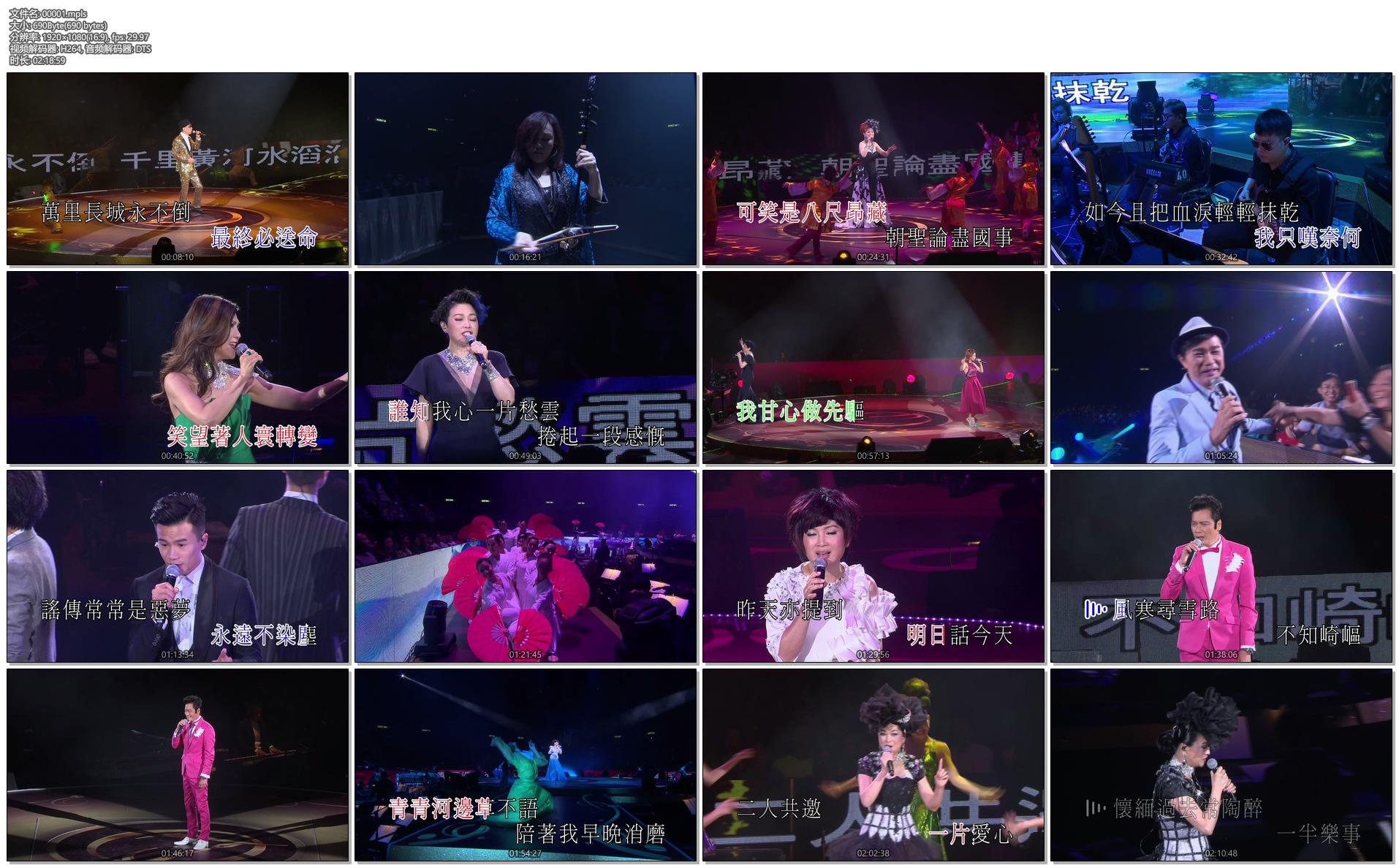 [蓝光原盘] 歌词大师卢国沾作品演唱会2016Jimmy Lo Concert 2016《ISO 双碟 91G》插图(2)