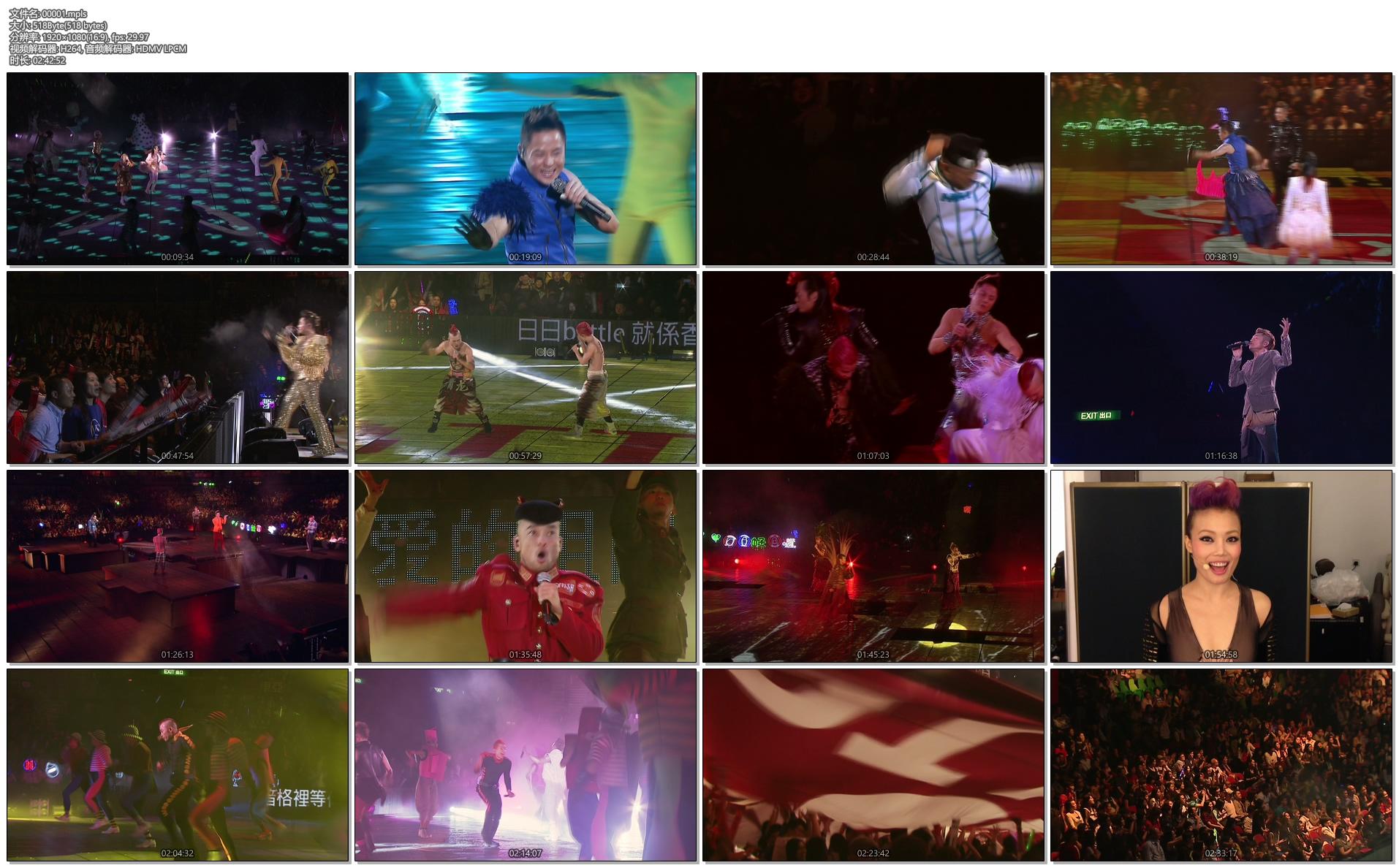 [蓝光原盘] 草蜢森巴大战软硬FAN 2012 演唱会GRASSHOPPER VS SOFTHARD 2012 HK《 ISO 42.25G》插图(2)