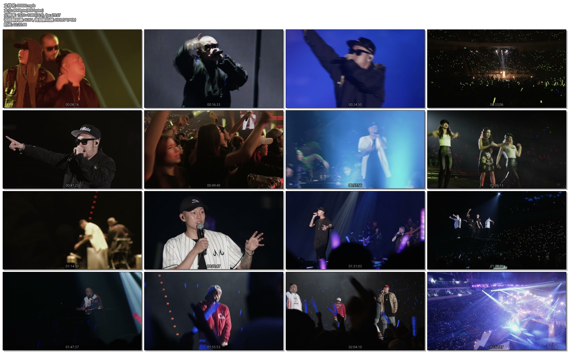 [蓝光原盘] 兄弟本色 2015 台北小巨蛋日落黑趴演唱会《 ISO 41.94G》插图(1)