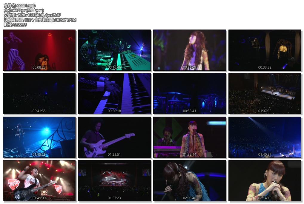 [蓝光原盘] 中岛美嘉2009年日本巡回演唱会《ISO 39.5G》插图(1)