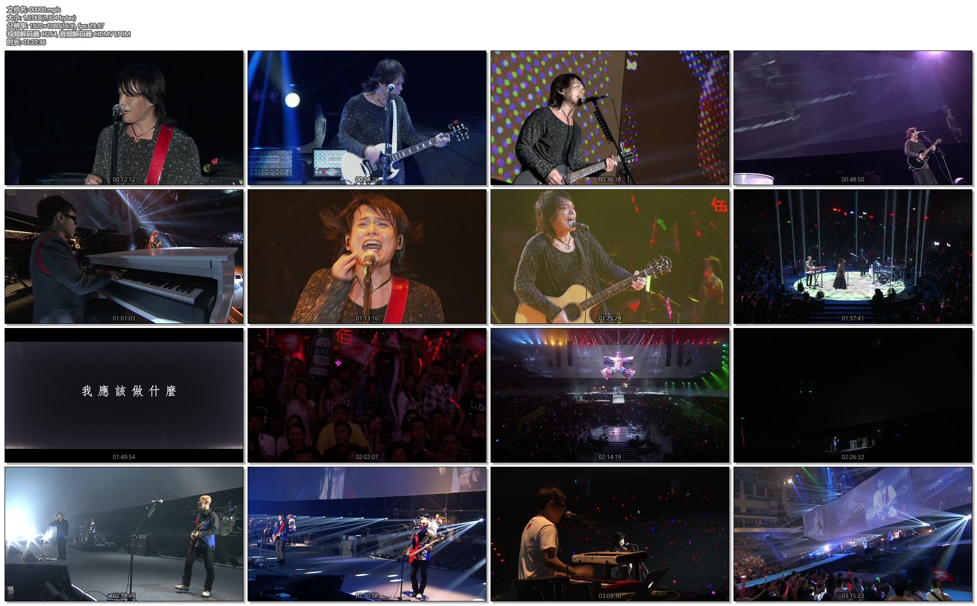 [蓝光原盘] 生命的现场-伍佰&China Blue 20周年大感谢台北演唱会影音全纪录《ISO 43.29》插图(1)