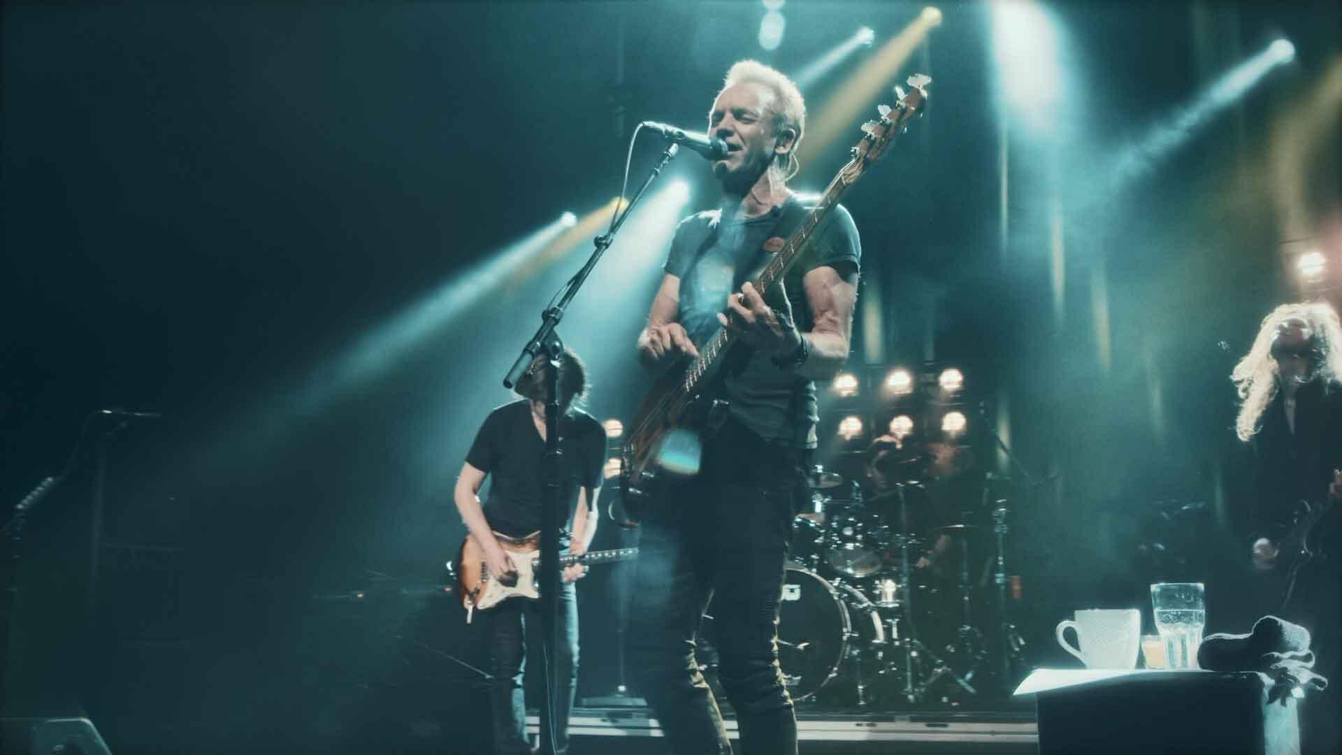 [蓝光原盘] 斯汀 2017巴黎奥林匹亚音乐厅演唱会实录Sting Live at the Olympia Paris 2017《 ISO 35.8G》
