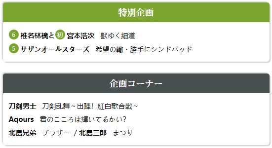 第69回NHK紅白歌合戦 (4)