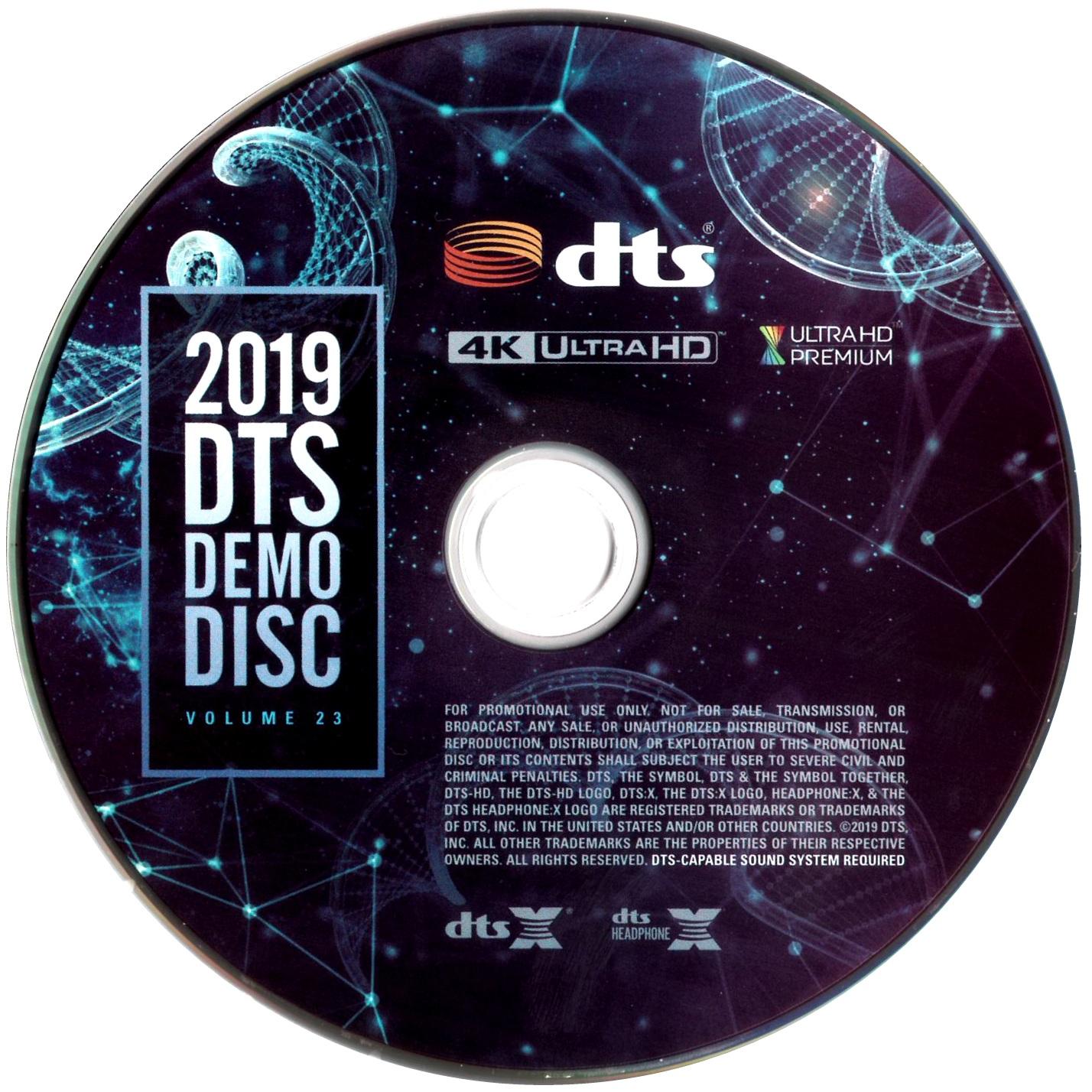 DTS蓝光演示碟 2019 4K UHD DTS Demo Disc Vol.23 H.265 HDR 4KUltraHD DTS-X 7.1-