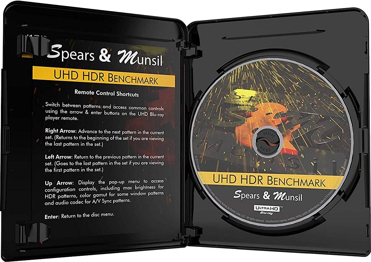 S&M超高清HDR调机蓝光碟 2019 4K Spears & Munsil UHD HDR Benchmark 2019 H.265 HDR 4KUltraHD DolbyTrueHD 5.1-