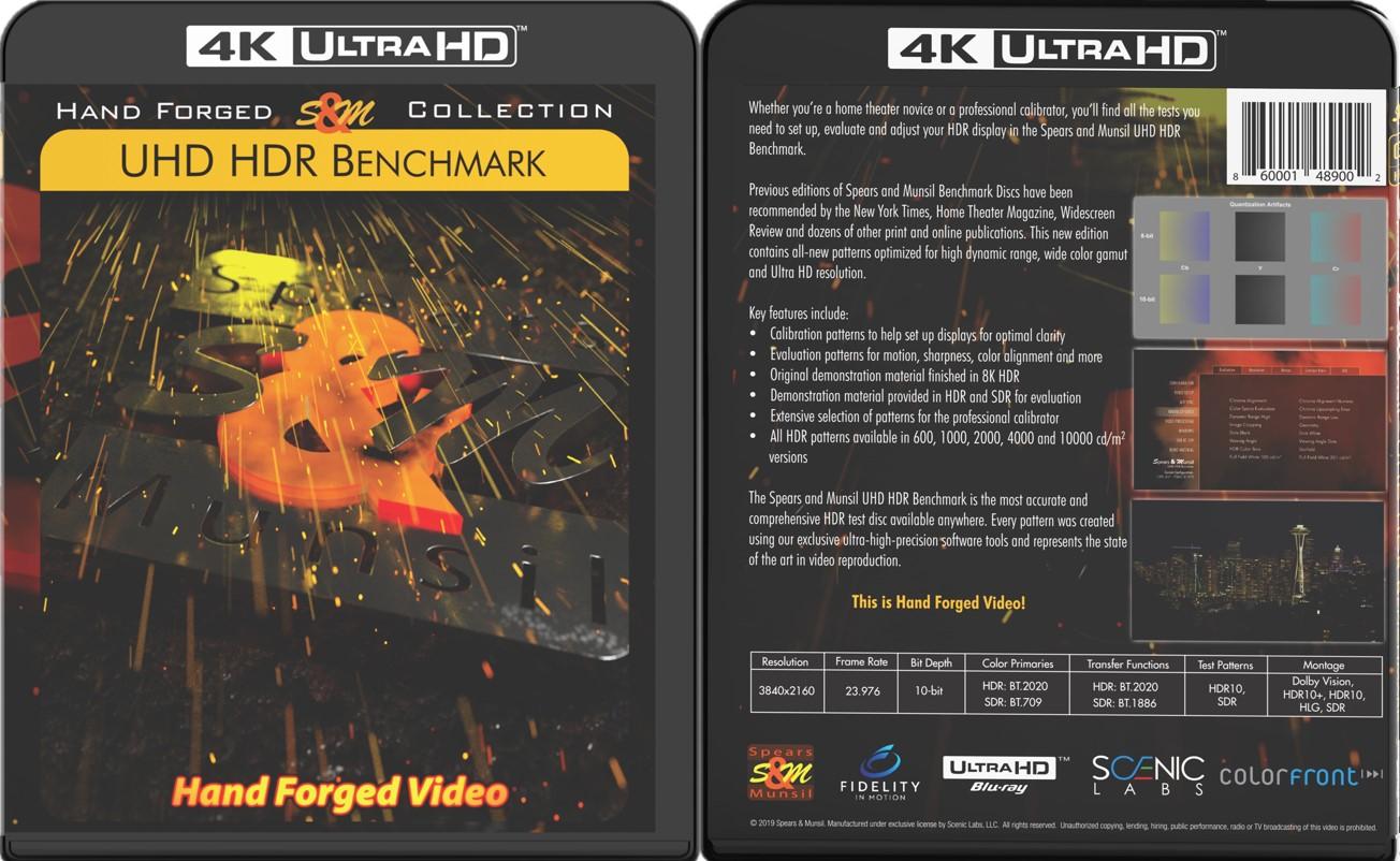 S&M超高清HDR调机蓝光碟 2019 4K Spears & Munsil UHD HDR Benchmark 2019 H.265 HDR 4KUltraHD DolbyTrueHD 5.1