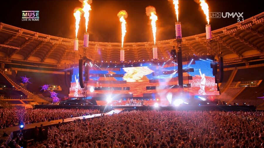 Muse - Live At Rome Olympic Stadium 2013 (4K) (2)